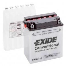 Moto akumulator 12V 12Ah 170A EXIDE EB12A-A 134x80x160mm / YB12A-A