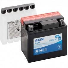 Moto akumulator 12V 4Ah 70A EXIDE ETX5L-BS 113x70x105mm / YTX5L-BS