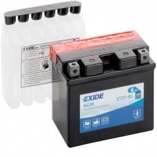 Moto akumulator 12V 6Ah 70A EXIDE ETZ7-BS 113x70x105mm / ETZ7-BS