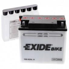 Moto akumulator 12V 28Ah 330A EXIDE Y60-N24L-A 184x124x169mm