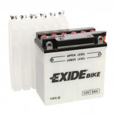 Moto akumulator 12V 9Ah 130A EXIDE EB9-B 135x75x139mm / YB9-B