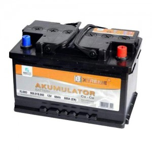 Akumulator Bxtreme 60Ah 480A, desni +