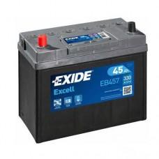 Akumulator Exide Excell 45Ah 300A, Levi +, EB457