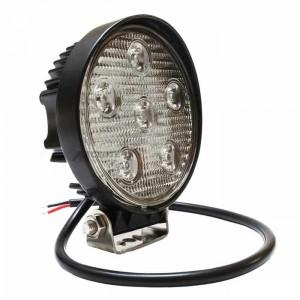 Delovna LED luč 18W, Hladna bela, 6 LED