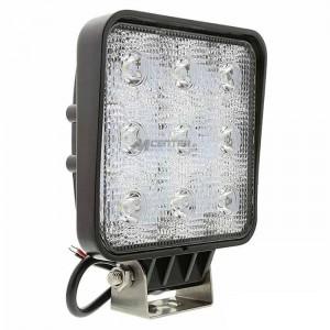 Delovna LED luč 27W, Hladna bela, 9 LED