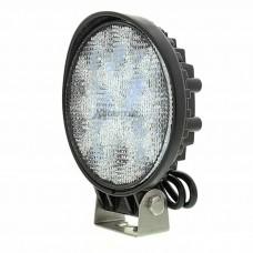 Delovna LED luč 27W, Hladna bela, 9 LED, Okrogla
