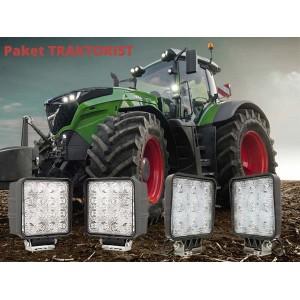 Komplet Delovnih LED luči - Paket traktorist