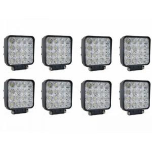 Komplet 8x 48W Delovne LED luči - Paket 48W