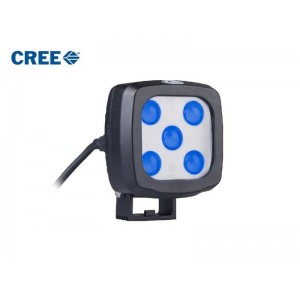 Modra luč za viličarje - CREE LED 25W