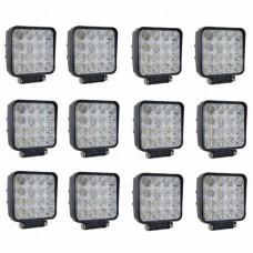 Komplet 12x 48W Delovne LED luči - Paket 48W