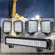 Komplet Delovnih LED luči - Bagerist XL