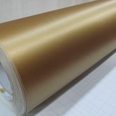 Brušen ALUMINIJ zlata folija,  Air bubble free, širina 1,52m