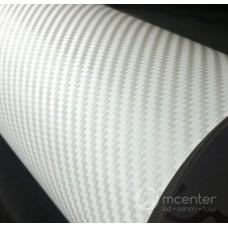 3D karbon folija bela - širina 1,52m