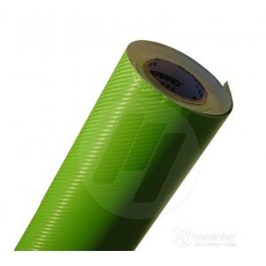 3D karbon folija zelena - širina 1,52m