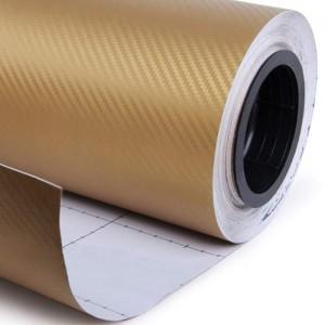 3D karbon folija zlata - širina 1,52m