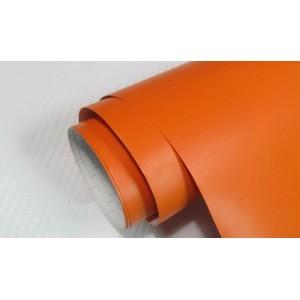Mat oranžna folija - Air bubble free širina 1,52m