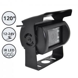 Kamera za delovna vozila in avtomobile / 12-24V / IR LED / IP67