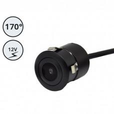 Kamera za vzratno vožnjo 12V / 170° vidni kot / Vgradna / Okrogla