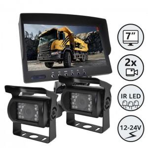"""Kamera z zaslonom 7"""" - komplet / Serija CXL200"""