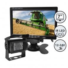 """Kamera z zaslonom 7"""" - komplet / Serija CXL100"""