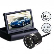 """Kamera za vzvratno vožnjo z zaslonom 4,3"""" / Vgradna"""