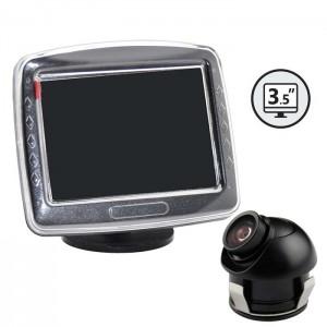 """Kamera za vzvratno vožnjo z monitorjem 3,5"""" / Vgradna"""
