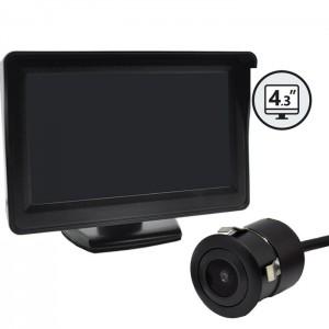 """Kamera za vzvratno vožnjo z monitorjem 4,3"""" / Vgradna"""