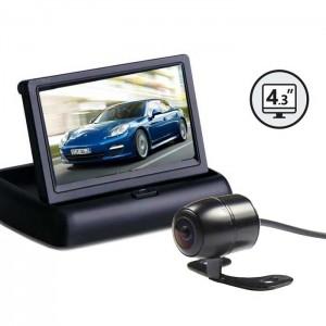 """Kamera za vzvratno vožnjo z zaslonom 4,3"""" / Nadgradna"""