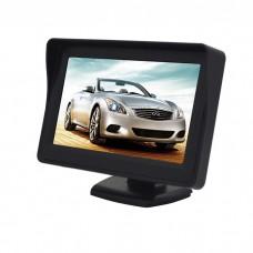 LCD zaslon za avto 4,3 inče 12-24V - TFT barvni