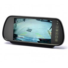 LCD zaslon 7 inčev 12-24V - TFT barvni / Ogledalo