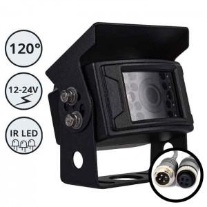 HD Kamera za delovna vozila in avtomobile / 12-24V / IR LED / 4 PIN