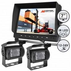 """Kamera z zaslonom 7"""" - komplet / Serija CXL700"""
