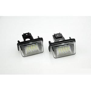LED ploščica z ohišjem Peugeot