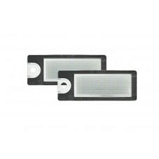 LED ploščica z ohišjem Volvo