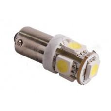 LED žarnica Ba9S T4W, 5x5050 SMD