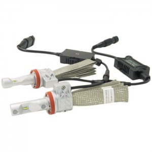 H7 LED kit Luxeon ZES - 4000lm / 12-24V