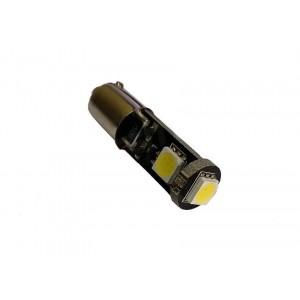 LED žarnice Ba9S / T4W 24V, 3 SMD LED