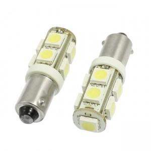 LED žarnica Ba9S H6W, 9x5050 SMD