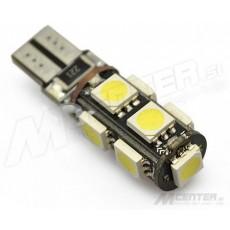 LED žarnica  T10 - W5W, Canbus 9x5050 SMD