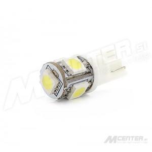 LED žarnica T10 - W5W, 5x5050 SMD