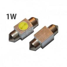 LED žarnica C5W cevna 31mm / 1W