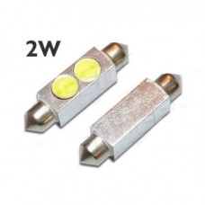 LED žarnica C5W cevna 41mm / 2W