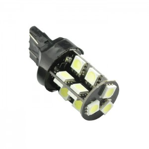 LED žarnica 7440 - W21W Canbus, 19 LED, enopolna