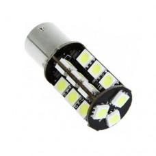 LED žarnica Ba15S - P21W, Canbus, 27 LED, enopolna