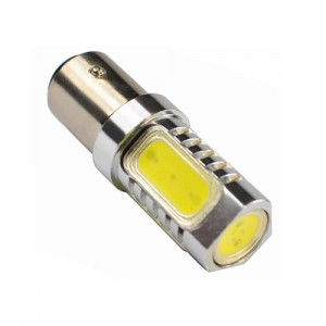 LED žarnica Ba15S - P21W, High Power 6W, enopolna