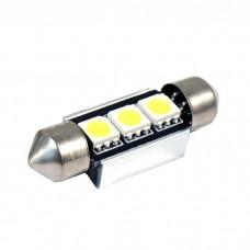 LED žarnica CEVNA 36mm/ Canbus / 3x SMD 5050