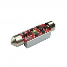 LED žarnica CEVNA 39mm / Canbus / Cree LED 3W