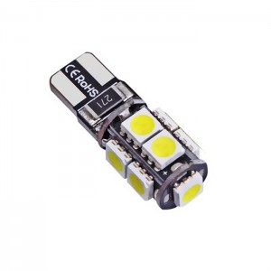 LED žarnica T10 - W5W 24V, Canbus 9x5050 SMD