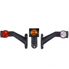 Gabaritna luč LED Horpol LD2175 leva / 12/24V, kabel, dolga