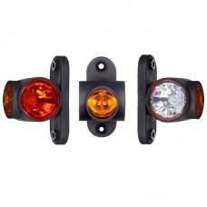 Gabaritna luč LED Horpol LD2186 - kratka / 12/24V, kabel